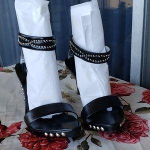 Dollhouse studded heels